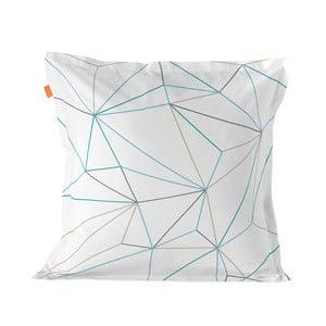 Bawełniana poszewka na poduszkę Blanc Heart, 60x60cm