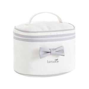Szaro-biała kosmetyczka Tanuki Toilet Bag, 30x20 cm