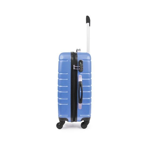 Zestaw walizki i tobry podręcznej Vanity Case, niebieskie