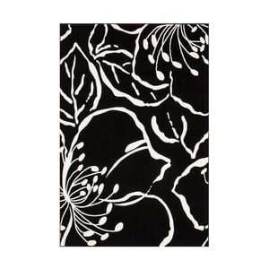 Czarny dywan Kayoom Saga, 80x150 cm
