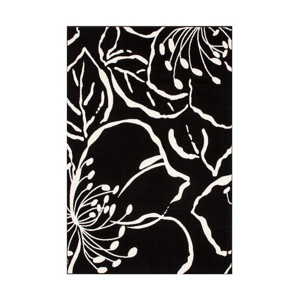 Czarny dywan Kayoom Saga, 160x230 cm