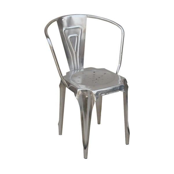Metalowe krzesło Fauteuil Acier