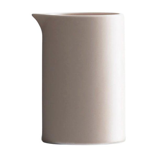 Beżowy porcelanowy mlecznik House Doctor Milky