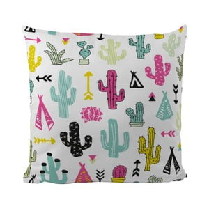 Poduszka Cacti And Teepee, 50x50 cm