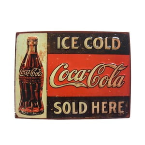 Tablica na ścianę Ice Cold Coca Cola