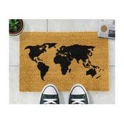 Wycieraczka Artsy Doormats World Map, 40x60 cm