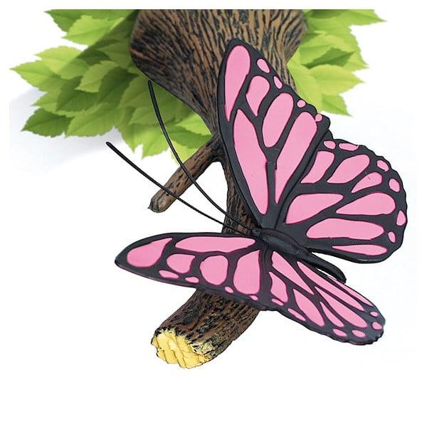 Kinkiet z naklejką Pink Butterly