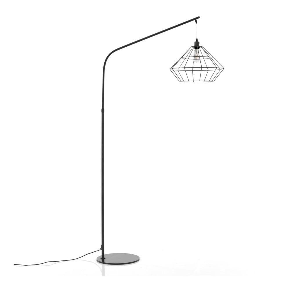 Czarna lampa stojąca Tomasucci Diamond