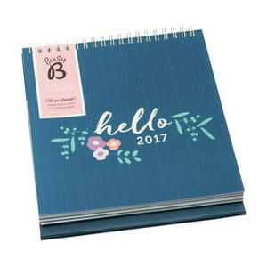 Kalendarz na stół Busy B Hello 2017