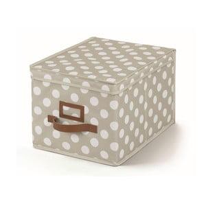 Beżowe pudełko z pokrywką Cosatto Jolie, 25x40 cm