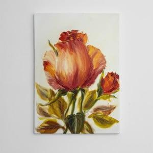 "Obraz na płótnie ""Magiczna róża"", 50x70 cm"