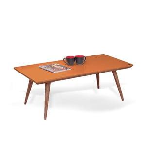 Stolik Marlen Orange, 115x40x60 cm