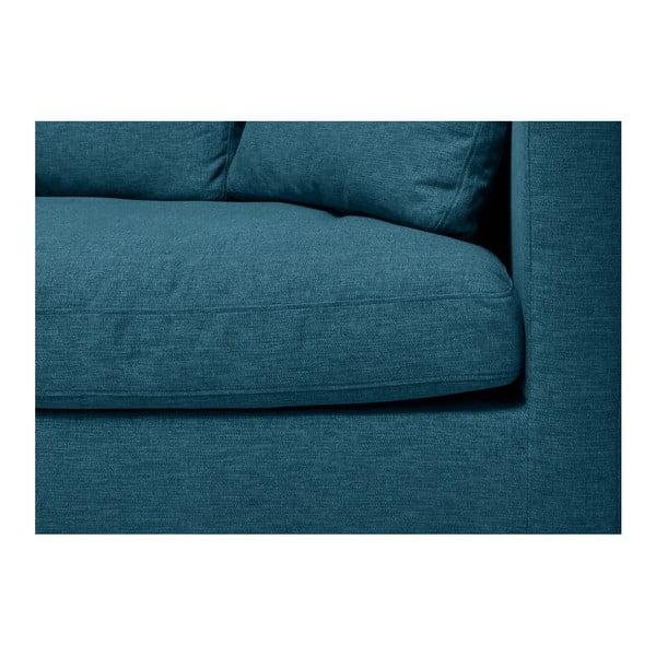 Turkusowa sofa 3-osobowa Vivonita Hugo