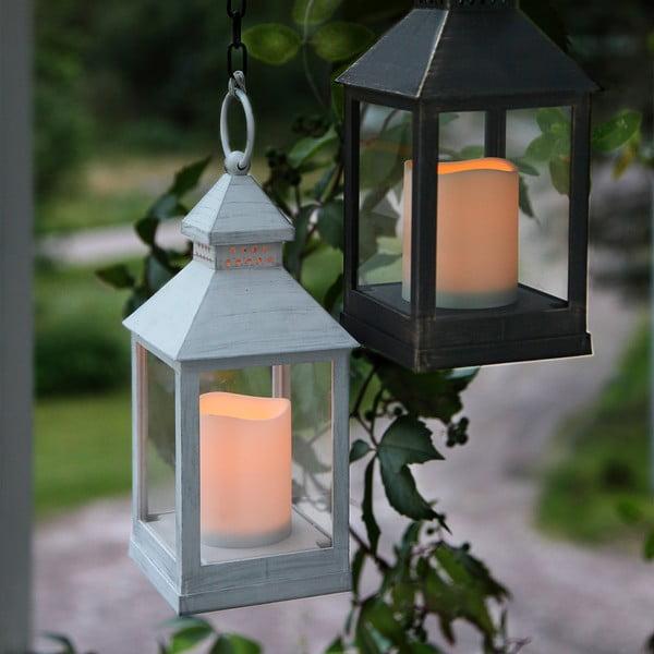 Biały lampion LED Berenik