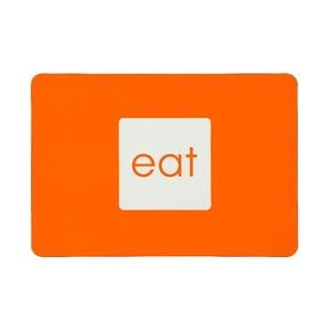 Zestaw 4 mat stołowych Eat Orange