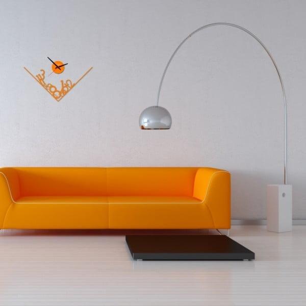 Zegar ścienny Orange Get Lost