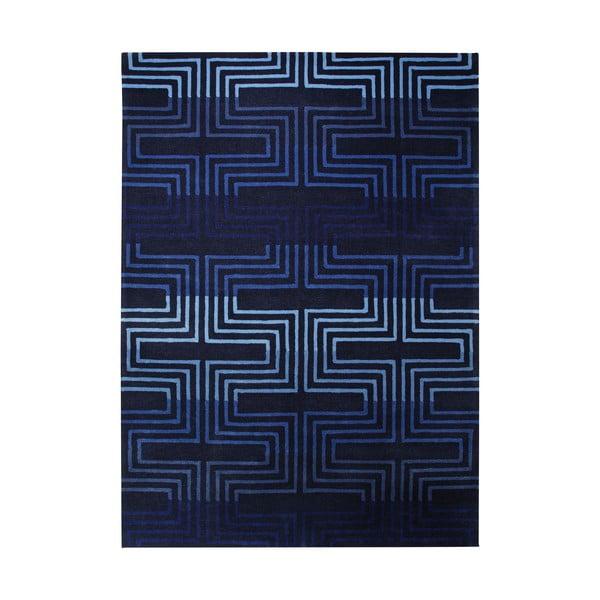 Dywan Esprit Matrix Blue, 170x240 cm