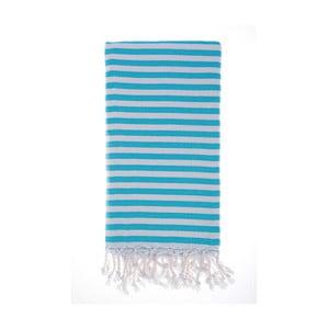 Ręcznik hammam Marmaris Turquoise 100x180 cm