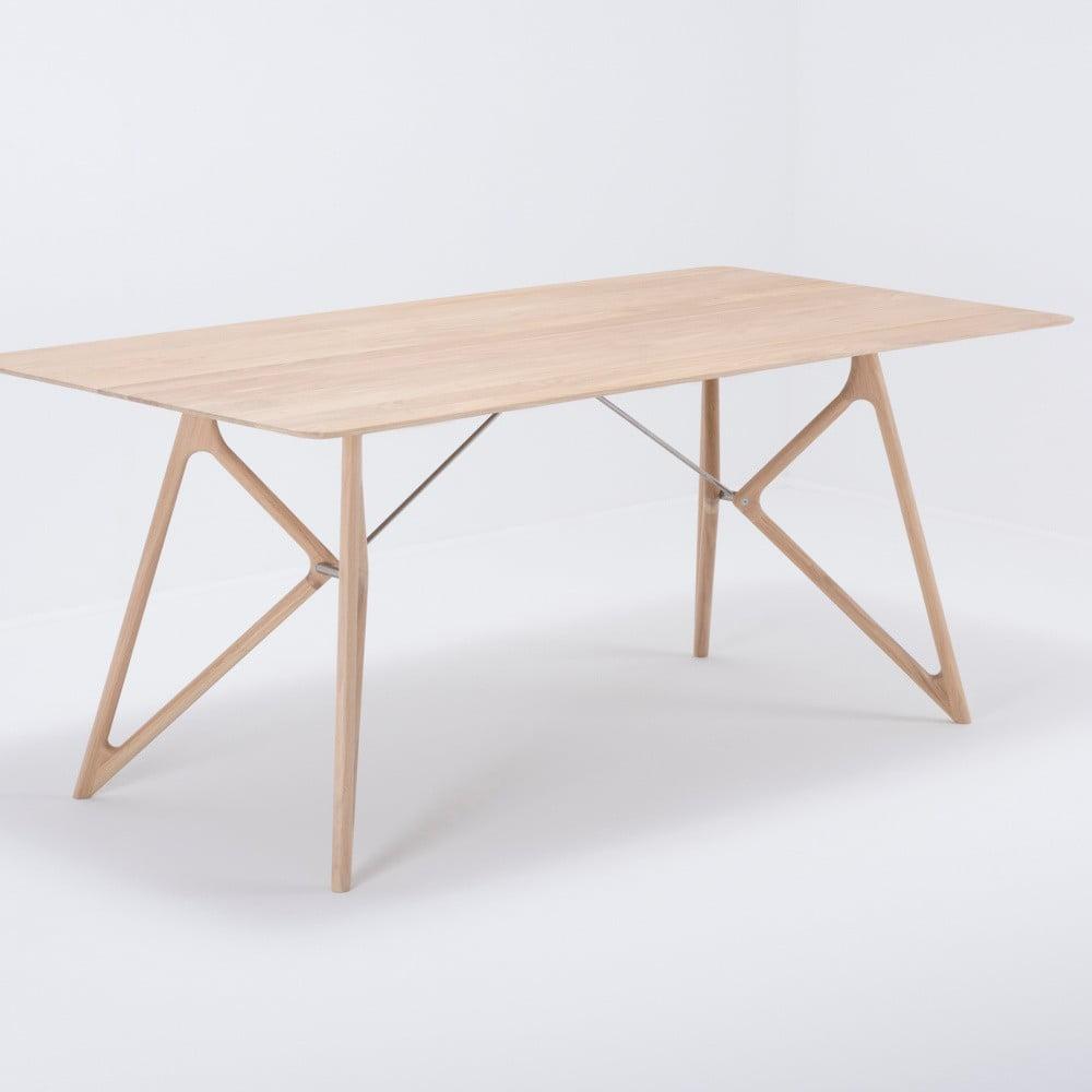 Stół z litego drewna dębowego Gazzda Tink, 180x90cm