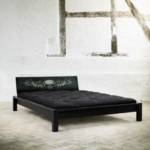 Łóżko Karup Tami Black Rock Black/Black Scull