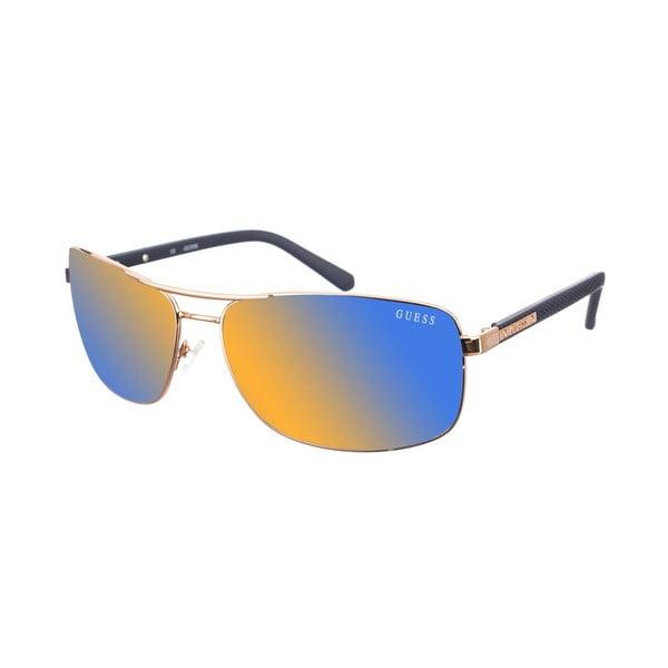 Męskie okulary przeciwsłoneczne Guess 835 Gold