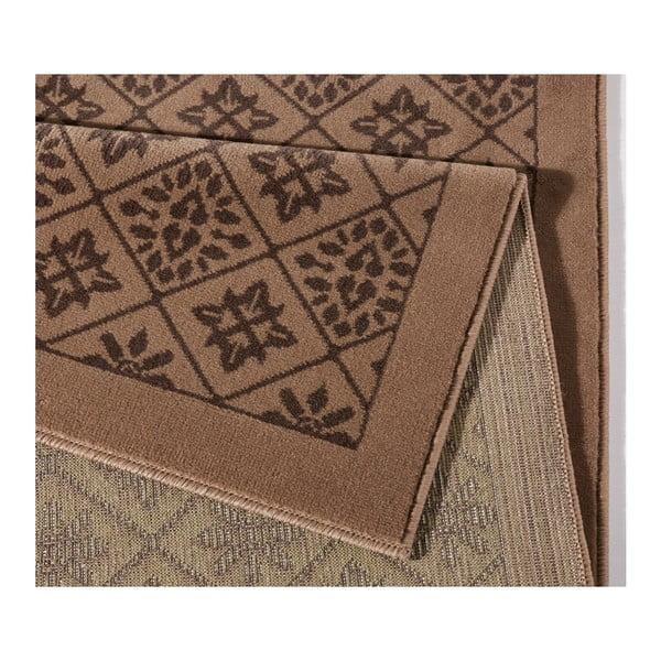Brązowy dywan Hanse Home Gloria Tile, 80x200 cm
