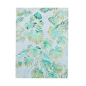Obraz z motywem liści palmowych Dino Bianchi, wysokość 1,2m