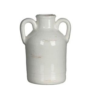 Wazon ceramiczny Sil White, 14x7.5 cm