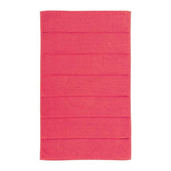 Koralowy czerwony  dywanik łazienkowy Aquanova Adagio, 60x100cm