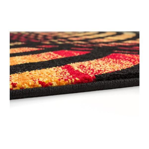 Dywan Rush Black, 80x150 cm