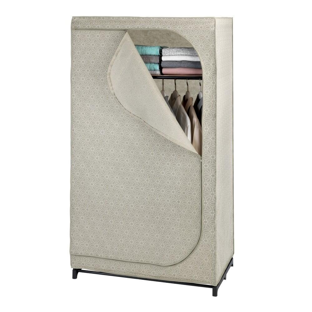 Beżowa szafa tekstylna Wenko Balance, 160x50x90 cm