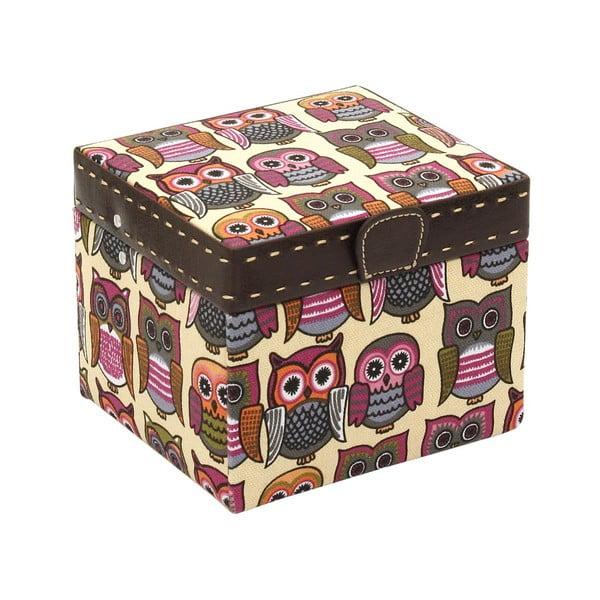 Pomarańczowa szkatułka  Owlivia