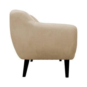 Beżowy fotel Mazzini Sofas Toscane