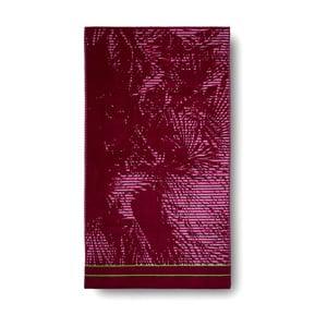 Różowy ręcznik kąpielowy Casa Di Bassi Palm Pink, 100x180 cm