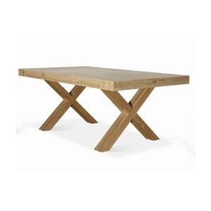 Rozkładany stół z drewna bukowego Castagnetti Cross, 180cm
