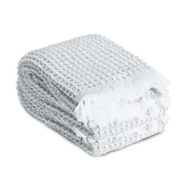 Ręcznik Whyte 65 x 100 cm, biało-szary