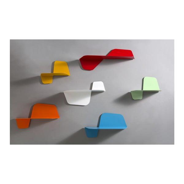 Biała półka ścienna MEME Design Flap, 80cm