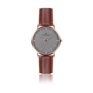 Zegarek męski ze skórzanym paskiem w kolorze koniaku Frederic Graff Rose Eiger Cognac Leather