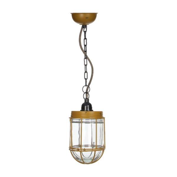 Lampa sufitowa Palma Ochre, 18x12 cm