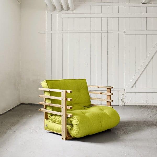 Fotel rozkładany Karup Funk Natural/Pistacie
