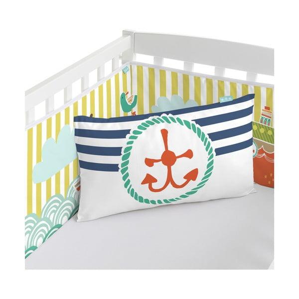 Ochraniacz do łóżeczka Ahoy There, 60x60x60 cm