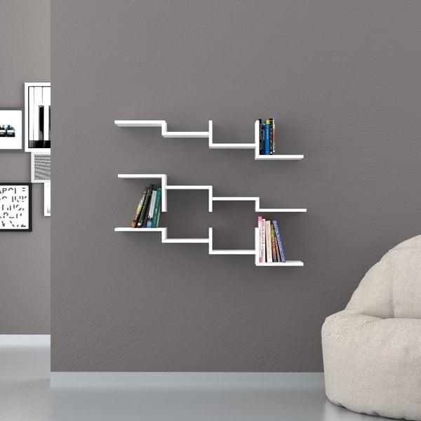 Półka Step 22x100 cm White
