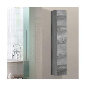 Szafka wisząca do łazienki  Column, motyw vintage