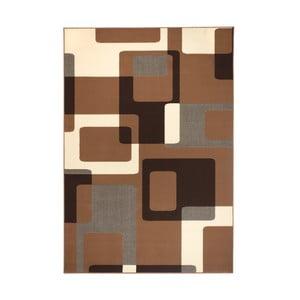 Dywan Hamla Retro, 120x170 cm, brązowy