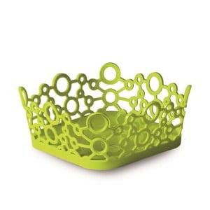 Zielony kwadratowy koszyk ForMe