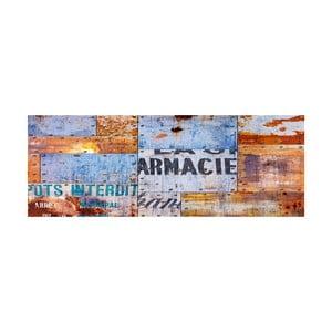 Dywan winylowy Planchas Metalicas, 50x100 cm