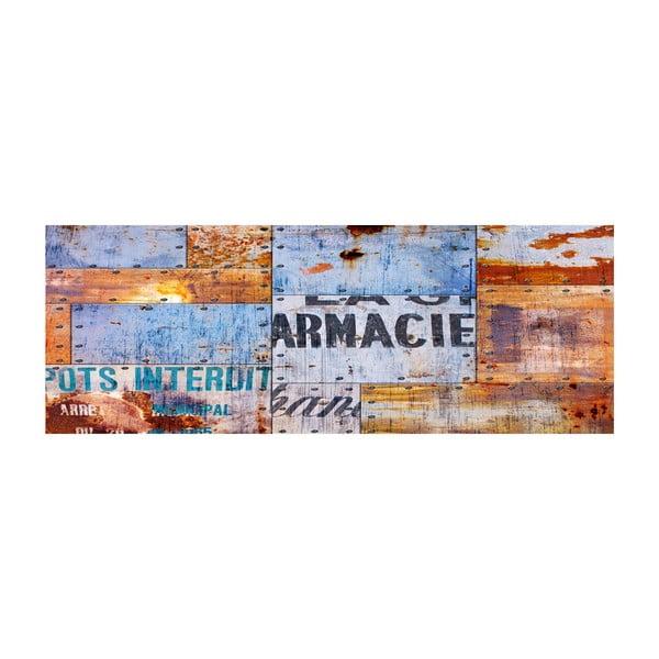 Dywan winylowy Planchas Metalicas, 50x140 cm