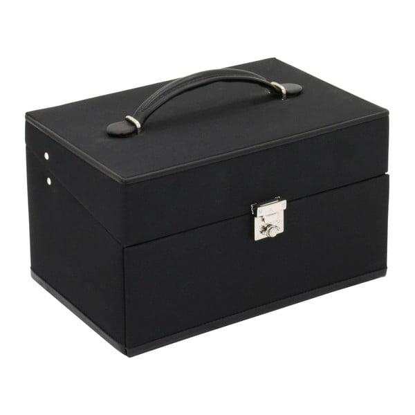 Czarna szkatułka  Copenhagen, 24x16 cm