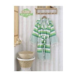 Szlafrok Pamukkale Green, L/XL