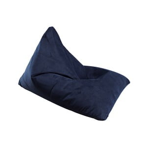 Granatowy worek do siedzenia Innovation Soft Peak Velvet Dark Blue